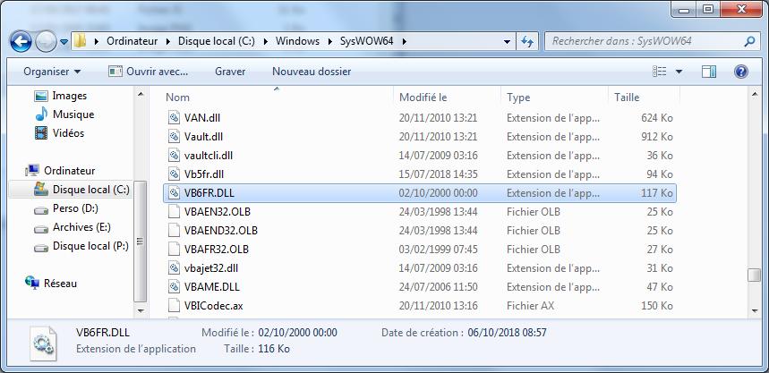 fichier vb6fr.dll